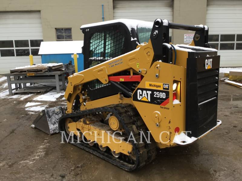 CATERPILLAR MULTI TERRAIN LOADERS 259D A2Q equipment  photo 9