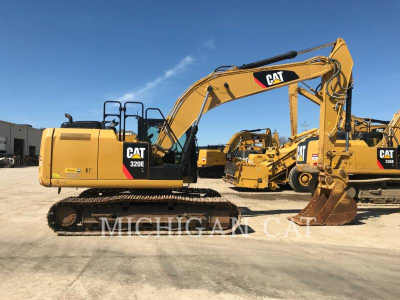 CATERPILLAR PELLES SUR CHAINES 320EL PQ equipment  photo 13