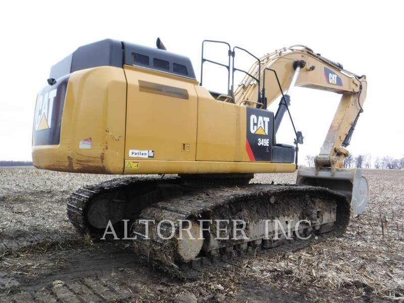 CATERPILLAR KETTEN-HYDRAULIKBAGGER 349EL equipment  photo 3