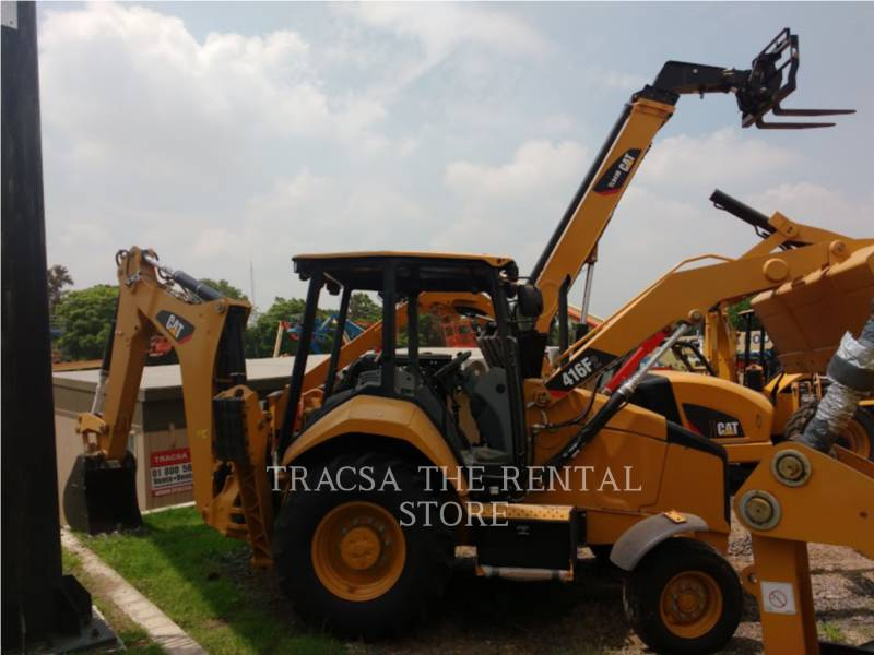CATERPILLAR 挖掘装载机 416F2STLRC equipment  photo 1
