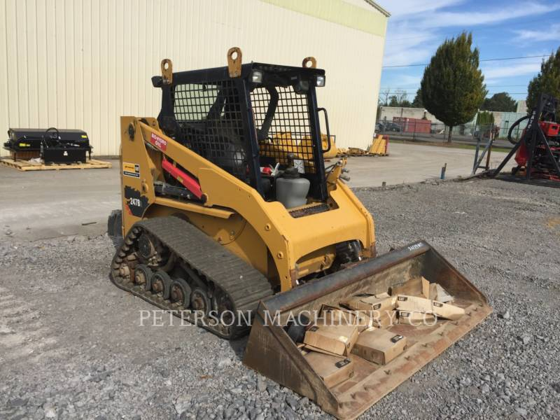 CATERPILLAR SKID STEER LOADERS 247B3 equipment  photo 2