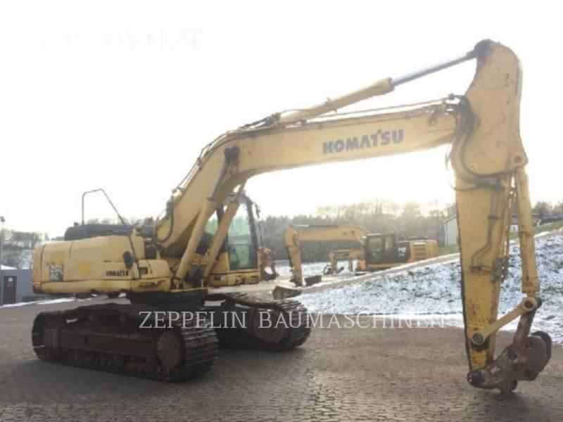KOMATSU LTD. KOPARKI GĄSIENICOWE PC290 equipment  photo 4