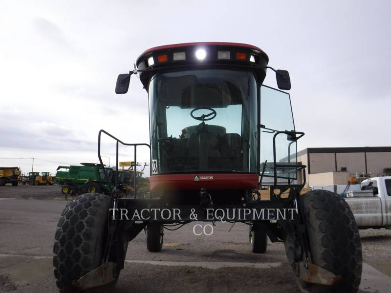 AGCO - HESSTON_ AGRICOLE – ALTELE 8550 equipment  photo 4