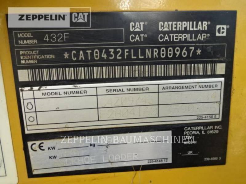 CATERPILLAR RETROEXCAVADORAS CARGADORAS 432F equipment  photo 11