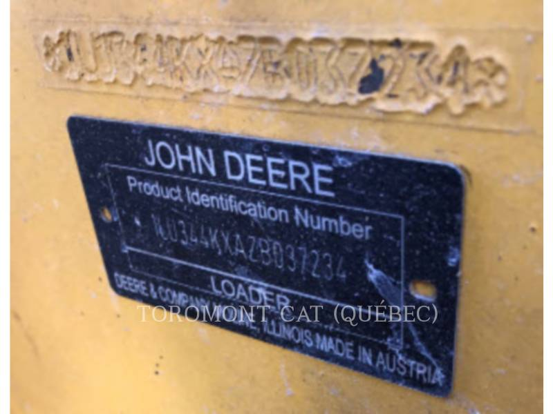 JOHN DEERE RADLADER/INDUSTRIE-RADLADER 344K equipment  photo 19