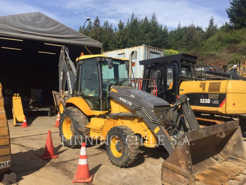 VOLVO CONSTRUCTION EQUIPMENT BAGGERLADER BL 70 equipment  photo 1