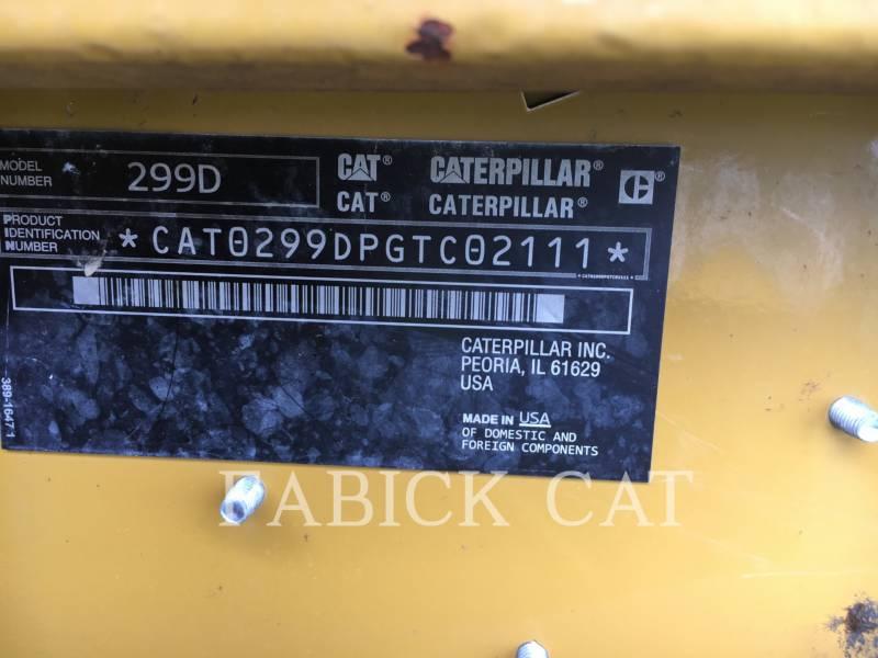 CATERPILLAR CARGADORES MULTITERRENO 299D equipment  photo 6