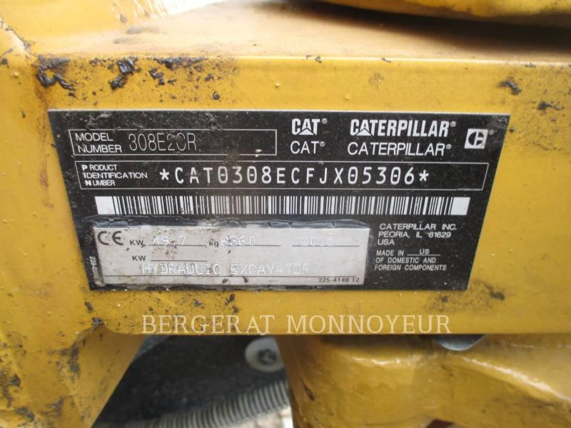 CATERPILLAR ESCAVATORI CINGOLATI 308E2CRSB equipment  photo 3