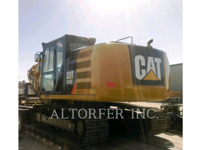 CATERPILLAR KETTEN-HYDRAULIKBAGGER 316EL CGC- equipment  photo 4