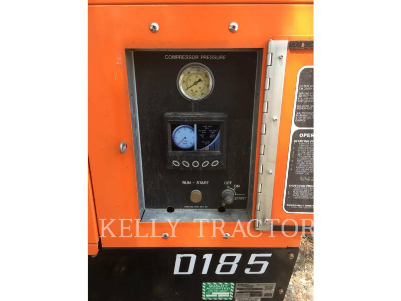 SULLIVAN AIR COMPRESSOR D185P DZ equipment  photo 11