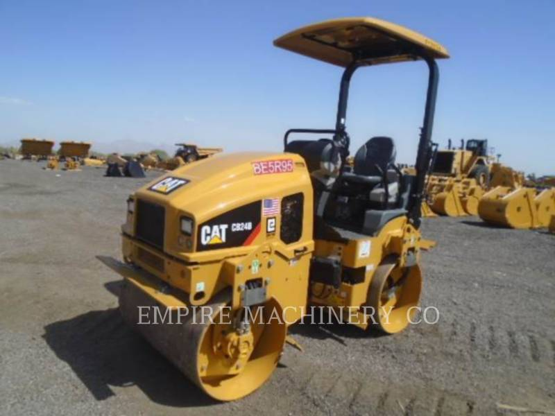 CATERPILLAR TANDEMOWY WALEC WIBRACYJNY DO ASFALTU (STAL-STAL) CB24B LT equipment  photo 4