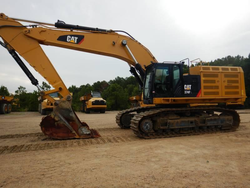 CATERPILLAR ESCAVATORI CINGOLATI 374 F L equipment  photo 2