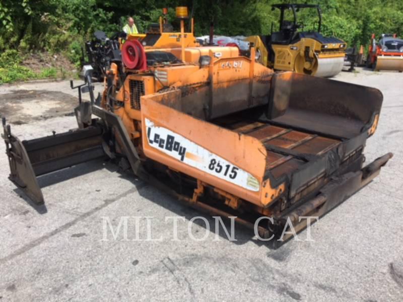 LEE-BOY PAVIMENTADORES DE ASFALTO 8515 equipment  photo 4