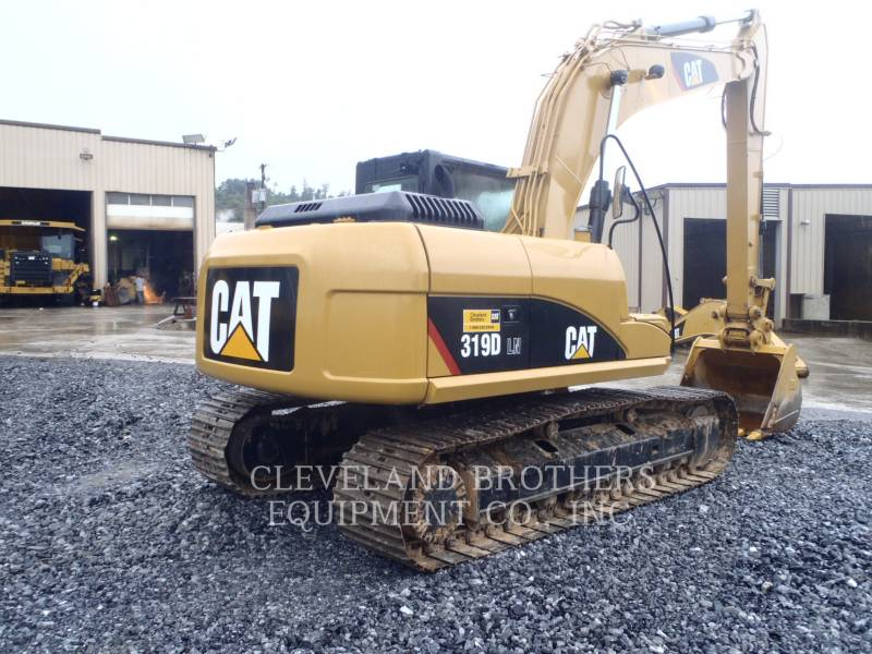 CATERPILLAR TRACK EXCAVATORS 319DLN equipment  photo 4