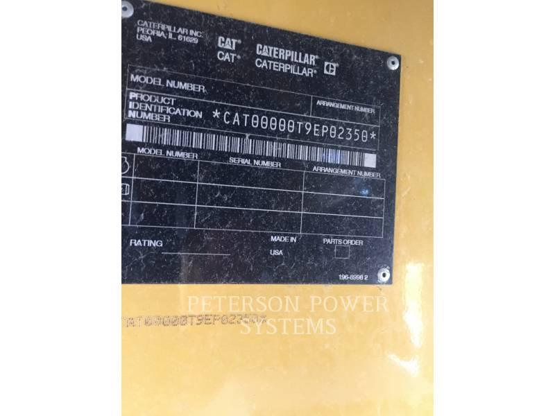 CATERPILLAR STATIONARY GENERATOR SETS 3412 700KW equipment  photo 5
