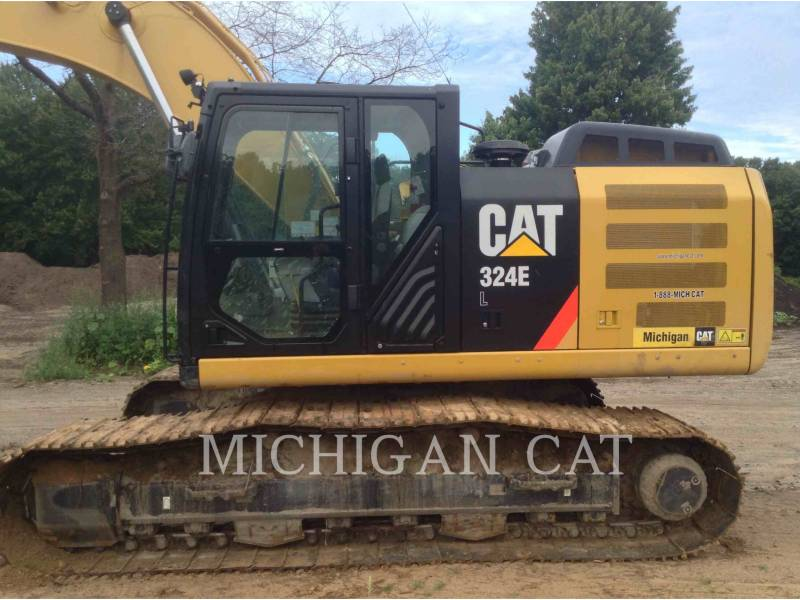 CATERPILLAR TRACK EXCAVATORS 324EL P equipment  photo 11