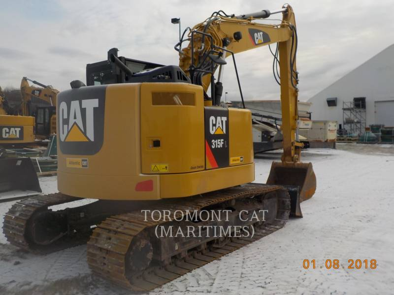 CATERPILLAR PELLES SUR CHAINES 315 F L equipment  photo 2