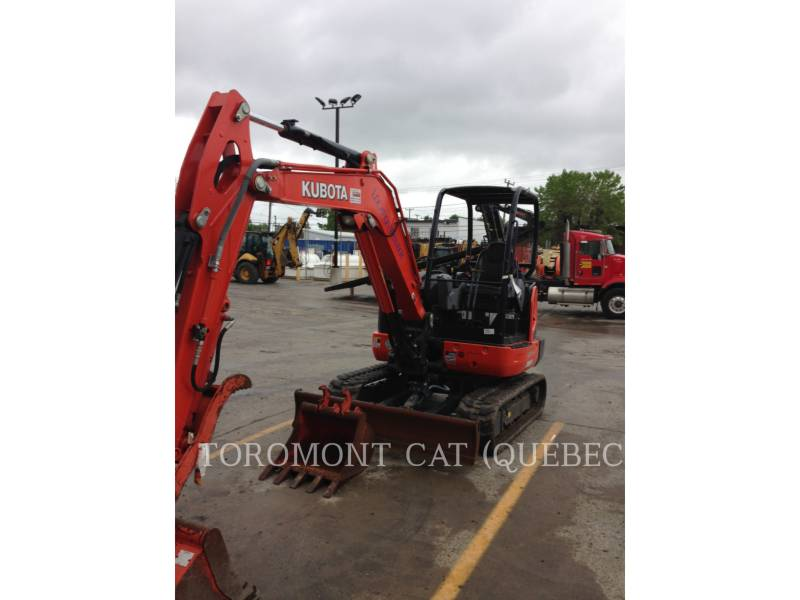 KUBOTA CORPORATION PELLES SUR CHAINES KX040-4 equipment  photo 3