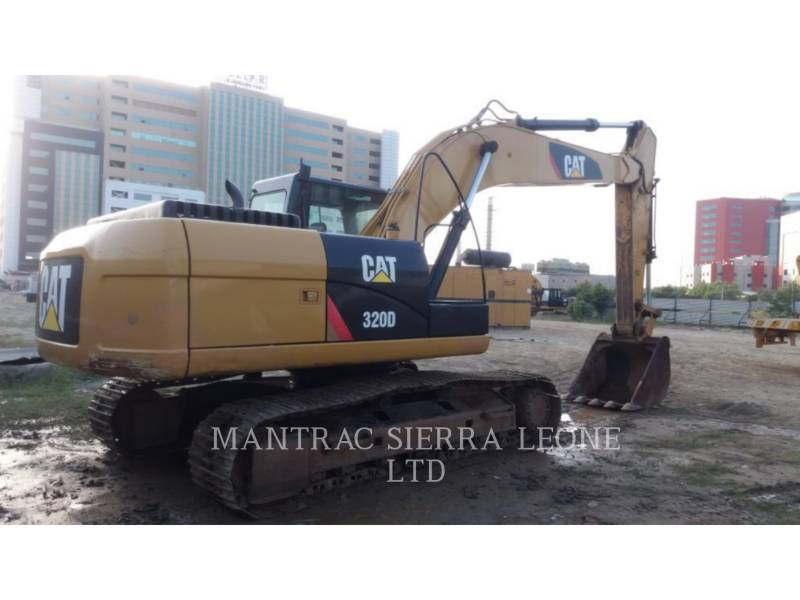CATERPILLAR EXCAVADORAS DE CADENAS 320 D equipment  photo 4