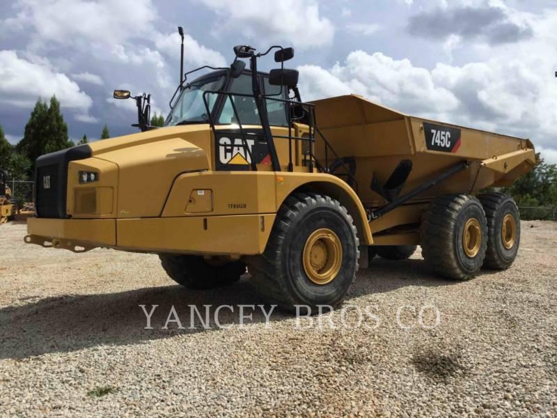 Caterpillar CAMIOANE ARTICULATE 745C equipment  photo 1