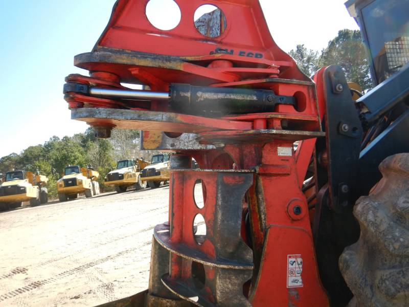 CATERPILLAR FORESTRY - FELLER BUNCHERS - WHEEL 553C equipment  photo 20