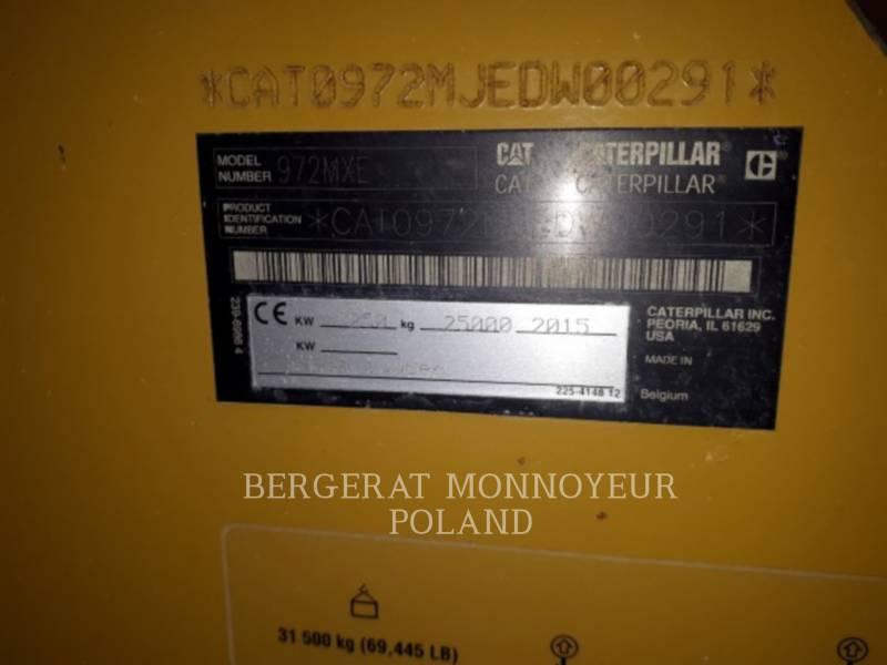 CATERPILLAR ŁADOWARKI KOŁOWE/ZINTEGROWANE NOŚNIKI NARZĘDZI 972M XE equipment  photo 3