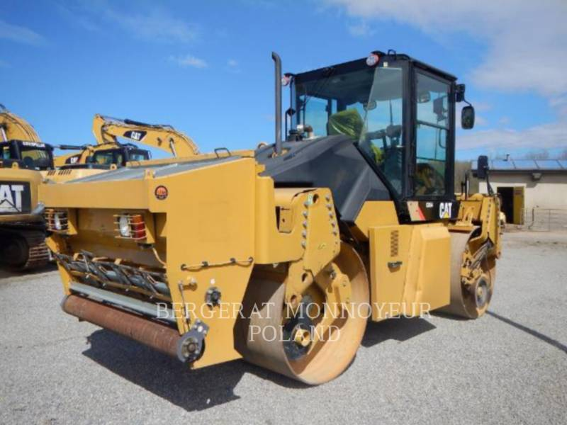 CATERPILLAR COMPACTEURS TANDEMS VIBRANTS CD54 equipment  photo 2