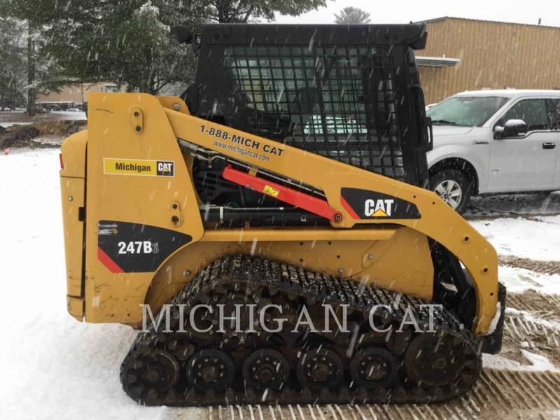 CATERPILLAR CARGADORES MULTITERRENO 247B3 CQ equipment  photo 18