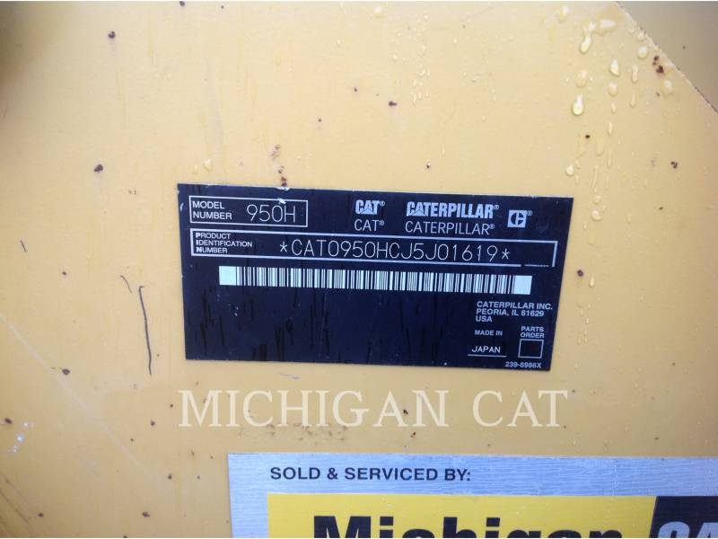 CATERPILLAR WHEEL LOADERS/INTEGRATED TOOLCARRIERS 950H RQ equipment  photo 24
