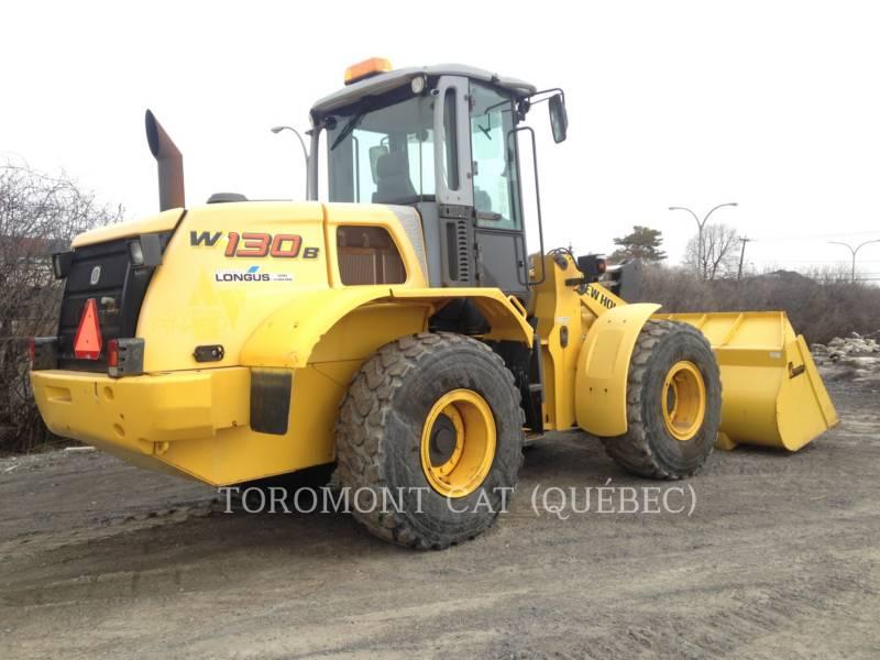NEW HOLLAND CARGADORES DE RUEDAS W130B equipment  photo 3