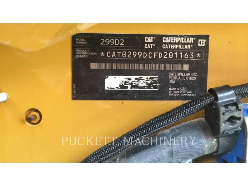 CATERPILLAR PALE CINGOLATE MULTI TERRAIN 299D2 equipment  photo 14