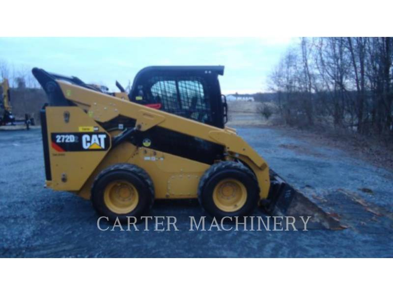 CATERPILLAR CHARGEURS COMPACTS RIGIDES 272D2 AC equipment  photo 2