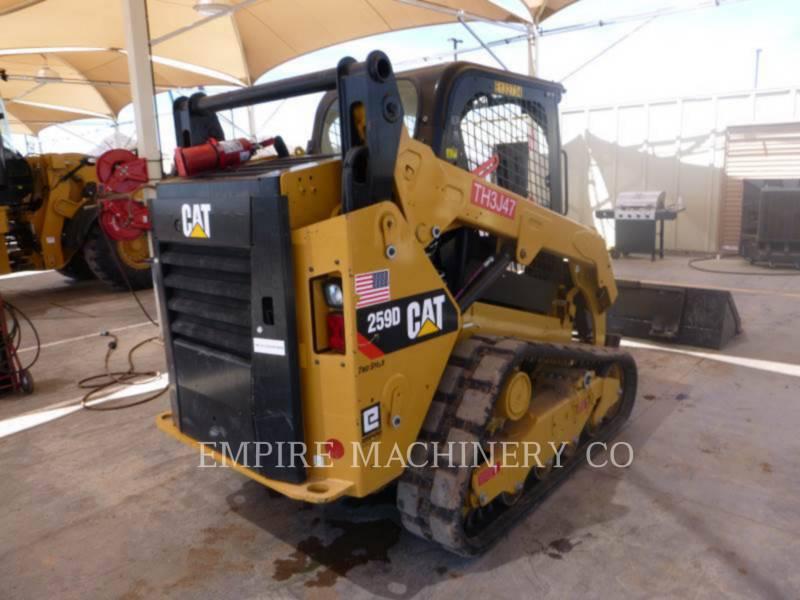 CATERPILLAR MINICARGADORAS 259D equipment  photo 2