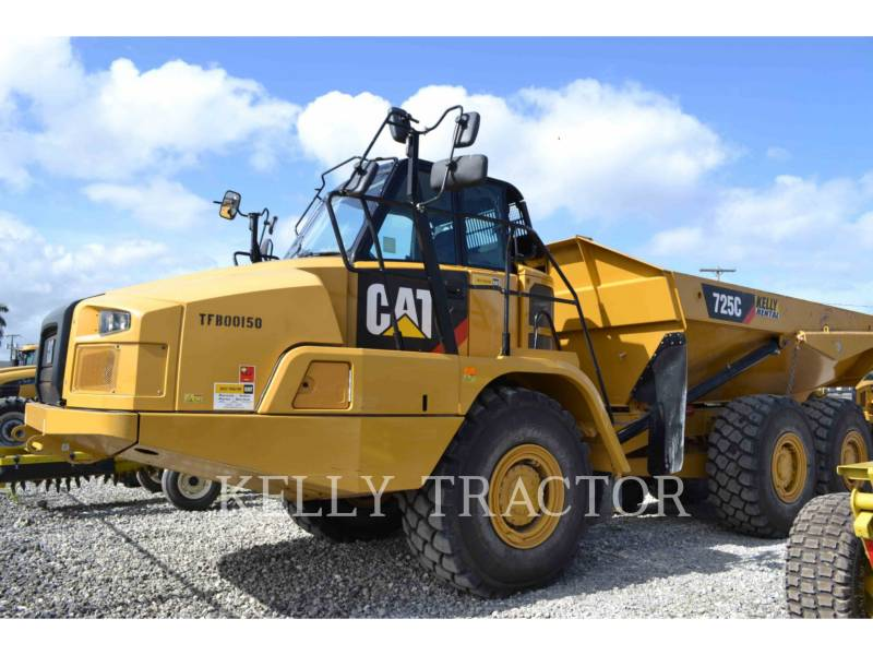 CATERPILLAR WOZIDŁA PRZEGUBOWE 725C equipment  photo 1