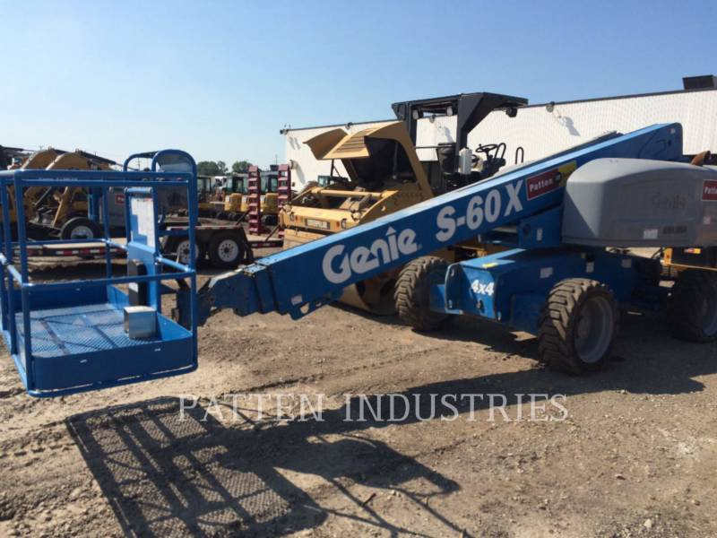 GENIE INDUSTRIES LIFT - BOOM S60X equipment  photo 1
