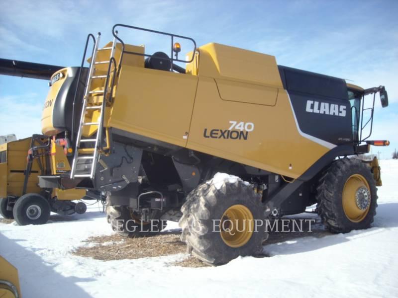 LEXION COMBINE COMBINES 740 equipment  photo 4