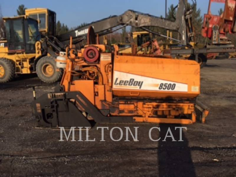 LEE-BOY FINISSEURS 8500LD equipment  photo 5