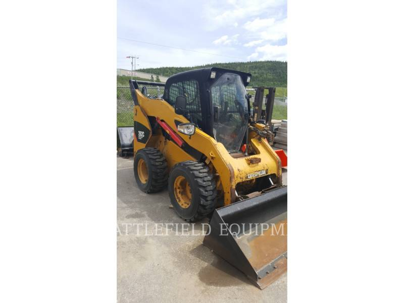 CATERPILLAR MINICARREGADEIRAS 262C equipment  photo 3