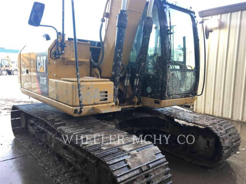 CATERPILLAR EXCAVADORAS DE CADENAS 313F GC CF equipment  photo 3