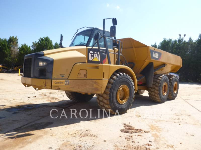 CATERPILLAR CAMIONES ARTICULADOS 740B equipment  photo 2