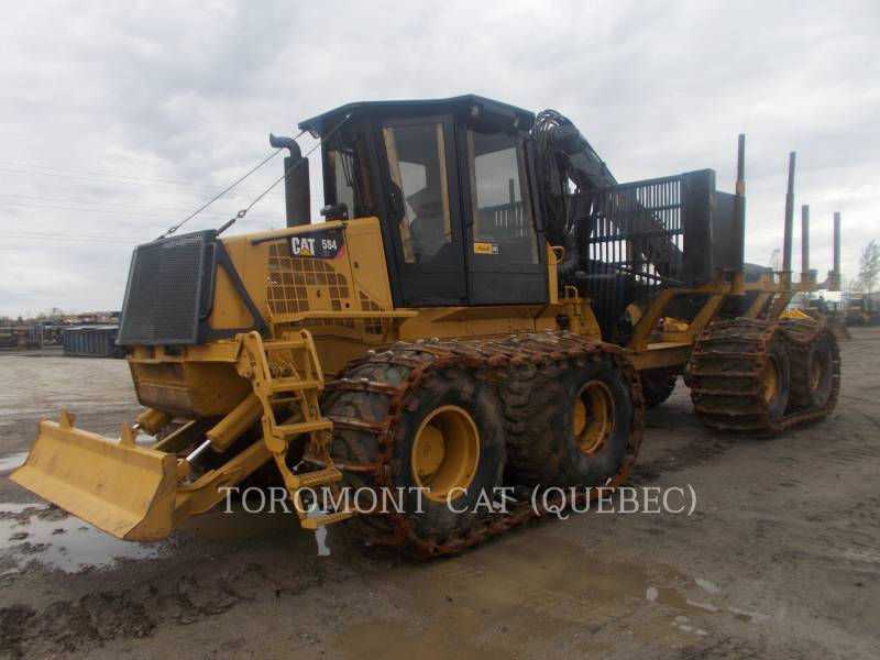 CATERPILLAR FORESTRY - FORWARDER 584HD equipment  photo 1