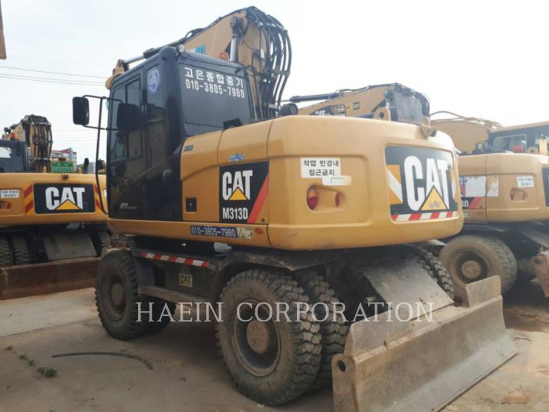 CATERPILLAR EXCAVADORAS DE RUEDAS M313D equipment  photo 5