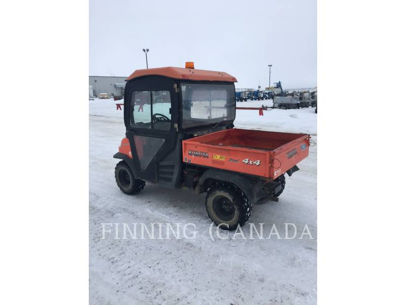 KUBOTA CORPORATION UTILITY VEHICLES / CARTS RTV 900 equipment  photo 3