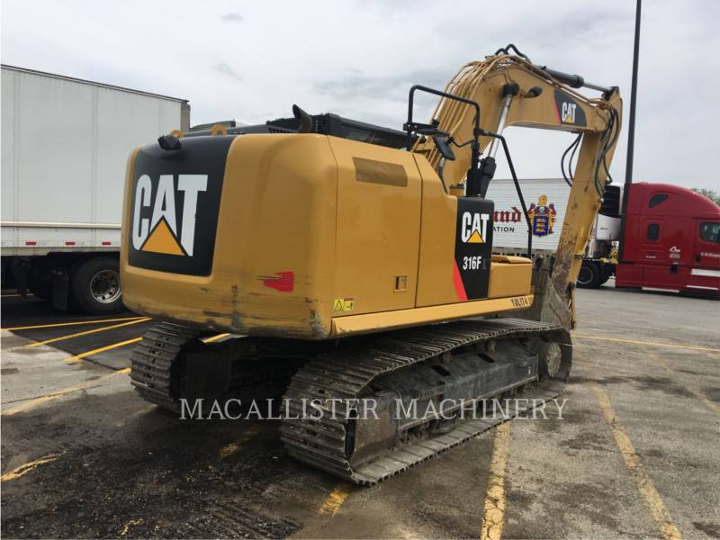 CATERPILLAR KETTEN-HYDRAULIKBAGGER 316FL equipment  photo 3