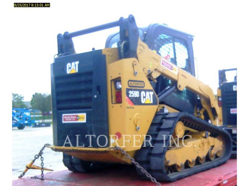 CATERPILLAR スキッド・ステア・ローダ 259D W equipment  photo 4
