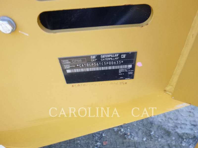 CATERPILLAR VIBRATORY TANDEM ROLLERS CP56 equipment  photo 9