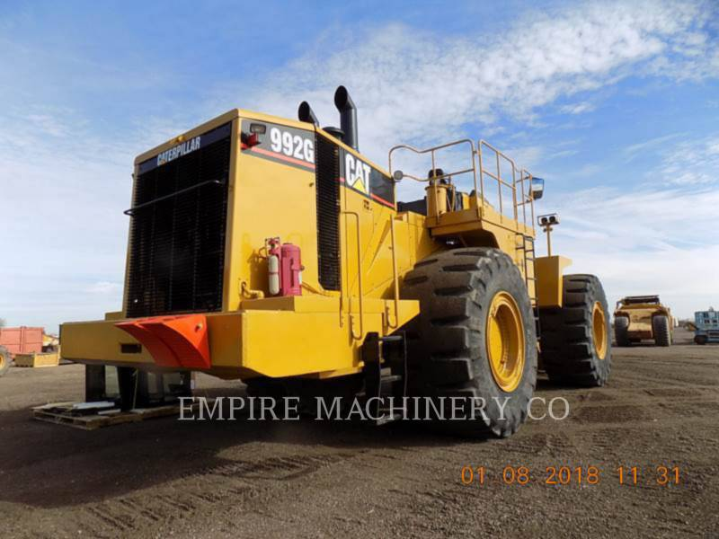CATERPILLAR WHEEL LOADERS/INTEGRATED TOOLCARRIERS 992G equipment  photo 2