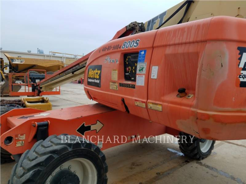 JLG INDUSTRIES, INC. LEVANTAMIENTO - PLUMA 800S equipment  photo 5