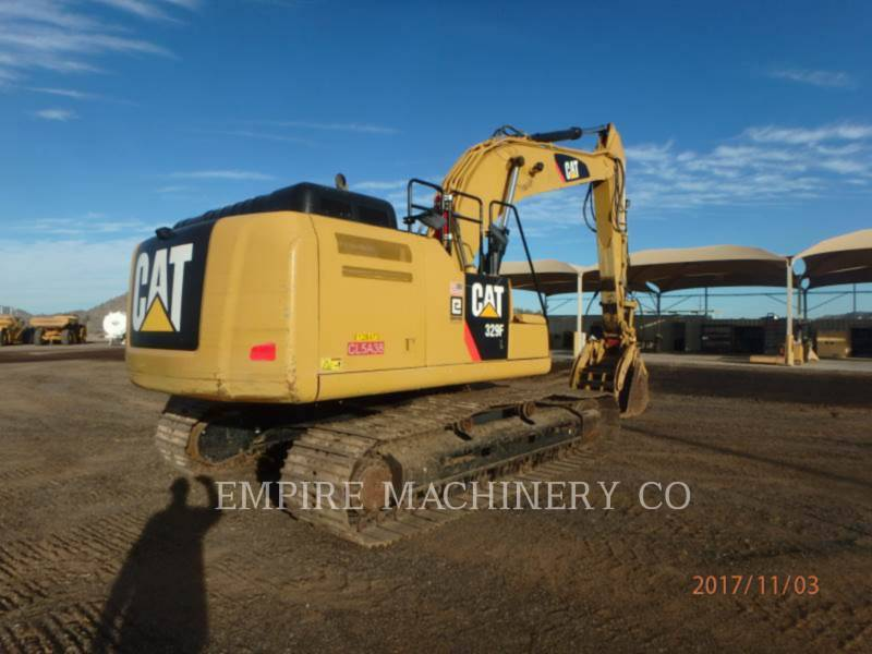 CATERPILLAR TRACK EXCAVATORS 329FL    P equipment  photo 2
