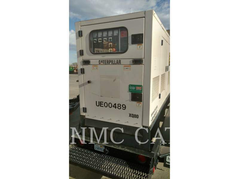 CATERPILLAR BEWEGLICHE STROMAGGREGATE XQ80P2 equipment  photo 1